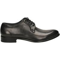 Čevlji  Moški Čevlji Derby Brecos MONTECARLO DELAVE grine-grigio-nero