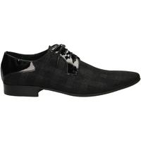 Čevlji  Moški Čevlji Derby Edward's NINO FENICE nero-nero