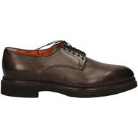 Čevlji  Moški Čevlji Derby Santoni DERBY 5F.TOM.LISCIA tum32-marrone
