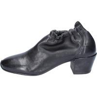 Čevlji  Ženske Gležnjarji Moma BS503 Črna