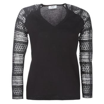Oblačila Ženske Puloverji Betty London LOLA Črna