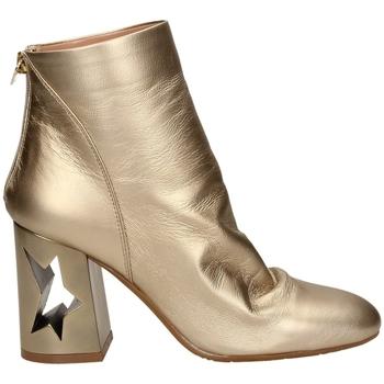 Čevlji  Ženske Gležnjarji Tiffi  tawny-platino