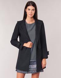 Oblačila Ženske Plašči Casual Attitude LYSIS Modra