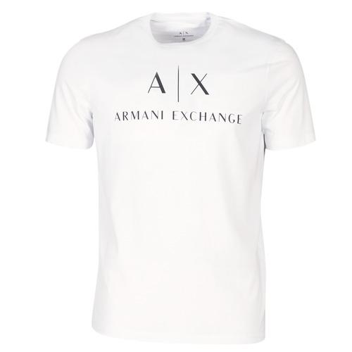 Oblačila Moški Majice s kratkimi rokavi Armani Exchange 8NZTCJ-Z8H4Z-1100 Bela