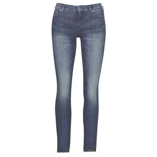Oblačila Ženske Kavbojke slim Armani Exchange 6GYJ25-Y2MKZ-1502 Modra