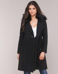 Oblačila Ženske Plašči Moony Mood LITELA Črna