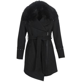 Oblačila Ženske Plašči Moony Mood LITEA Črna