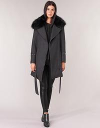 Oblačila Ženske Plašči Moony Mood LITEA Siva