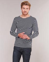 Oblačila Moški Majice z dolgimi rokavi Armor Lux VERMO Bela
