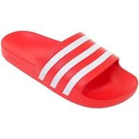Čevlji  Moški Natikači adidas Originals Adilette Aqua Rdeča