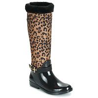 Čevlji  Ženske škornji za dež  Guess CICELY Črna