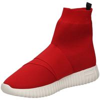 Čevlji  Ženske Visoke superge Fessura DINGHY KNIT red-rosso