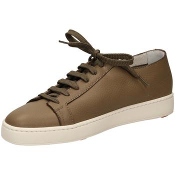 Čevlji  Moški Nizke superge Santoni TENNIS 6F iam61-taupe