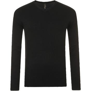 Oblačila Moški Puloverji Sols GLORY SWEATER MEN Negro