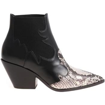 Čevlji  Ženske Gležnjarji Casadei 1Q613L0601X496E45 nero