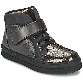 Čevlji  Deklice Nizke superge Unisa CALATA Siva / Črna