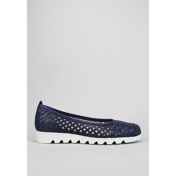 Čevlji  Ženske Balerinke Amanda  Modra