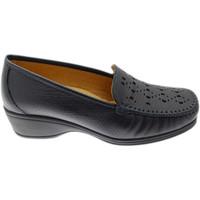 Čevlji  Ženske Mokasini Calzaturificio Loren LOK4002bl blu