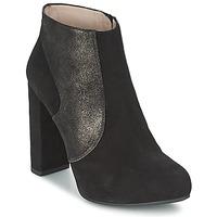 Čevlji  Ženske Gležnjarji Unisa SAFIR Črna