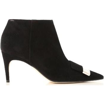 Čevlji  Ženske Gležnjarji Sergio Rossi A80000 MCAZ01 1000 nero