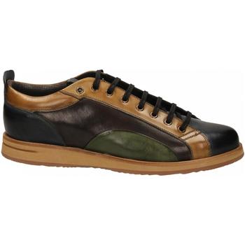 Čevlji  Moški Čevlji Derby Brecos VITELLO azzurro-legno