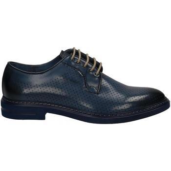 Čevlji  Moški Čevlji Derby Brecos VITELLO azzurro