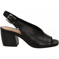 Čevlji  Ženske Sandali & Odprti čevlji Salvador Ribes GRETA HARLEY nero
