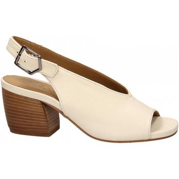 Čevlji  Ženske Sandali & Odprti čevlji Salvador Ribes GRETA HARLEY bianco