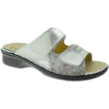 Čevlji  Ženske Natikači Calzaturificio Loren LOM2768bi grigio