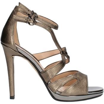 Čevlji  Ženske Sandali & Odprti čevlji Bacta De Toi 336 Gunmetal