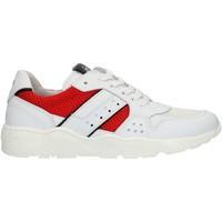 Čevlji  Dečki Nizke superge NeroGiardini P933572M White and red