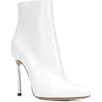 Čevlji  Ženske Polškornji Casadei 1Q618L100TRAIN900 bianco