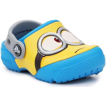 Čevlji  Otroci Cokli Crocs Crocsfunlab Minions Clog 204113-456 yellow, blue