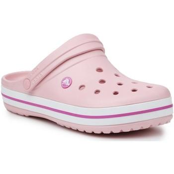 Čevlji  Ženske Cokli Crocs Crocband 11016-6MB pink