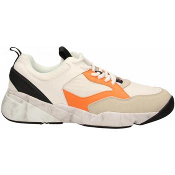 Čevlji  Moški Nizke superge Cromier TECNOnylon white-orange