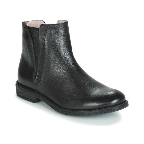 Čevlji  Deklice Polškornji Acebo's 9671-NEGRO-T Črna
