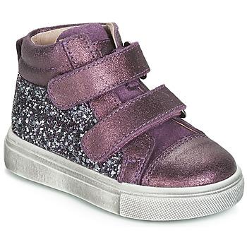 Čevlji  Deklice Visoke superge Acebo's 5299AV-LILA-C Vijolična
