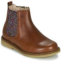Čevlji  Deklice Polškornji Acebo's 5274-CUERO Kostanjeva
