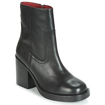 Čevlji  Ženske Gležnjarji Bronx BULA VARD Črna