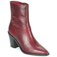 Čevlji  Ženske Gležnjarji Bronx NEW AMERICANA LOW Bordo
