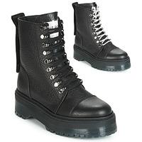 Čevlji  Ženske Polškornji Bronx RIFKA SUPER CHUNKY Črna