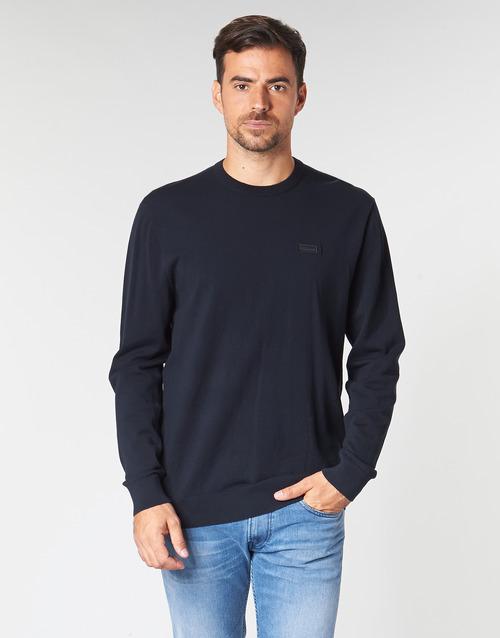 Oblačila Moški Puloverji HUGO SAN CLAUDIO 1 Modra