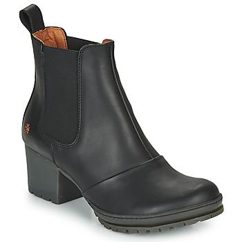 Čevlji  Ženske Gležnjarji Art CAMDEN Črna