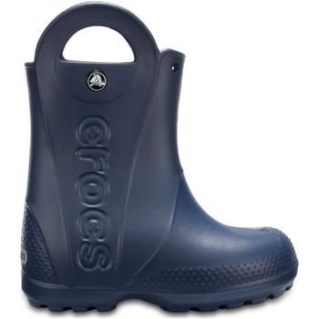 Čevlji  Otroci škornji za dež  Crocs Crocs™ Kids' Handle It Rain Boot Navy