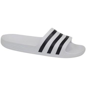Čevlji  Moški Natikači adidas Originals Adilette Aqua Bela