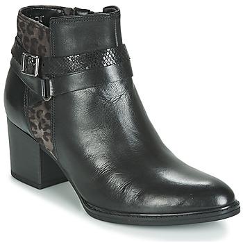 Čevlji  Ženske Gležnjarji Gabor 3289367 Črna