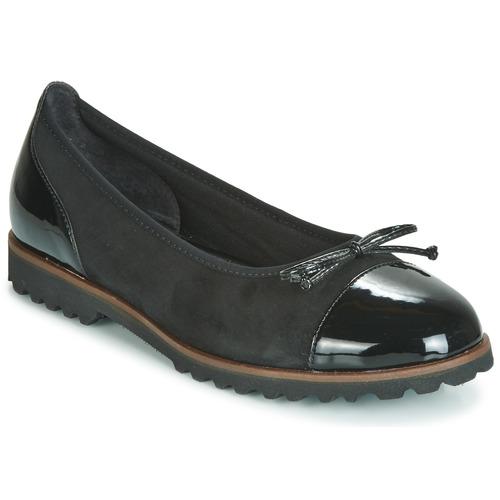 Čevlji  Ženske Balerinke Gabor 3410037 Črna