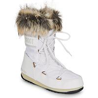Čevlji  Ženske Škornji za sneg Moon Boot MOON BOOT MONACO LOW WP 2 Bela