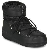 Čevlji  Ženske Škornji za sneg Moon Boot MOON BOOT LOW NYLON WP 2 Črna