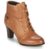 Čevlji  Ženske Gležnjarji Kdopa ALOE Cognac